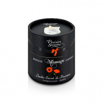 Свеча с массажным маслом Мак Plaisirs Secrets - Massage Candle - Poppy, 80 мл