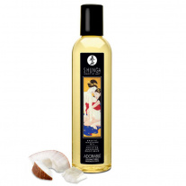Массажное масло Shunga - Erotic Massage Oil - Coconut Thrills, с ароматом кокоса, 250 мл