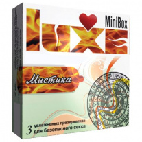 Презервативы Luxe Condoms - MIni Box - Мистика, с пупырышками, 3 шт