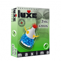 Презерватив Luxe Novelty Condom - Maxima - Bad Cowboy, злой ковбой, 1 шт