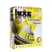 Презерватив Luxe Novelty Condom - Exclusive - Кричащий банан, 1 шт