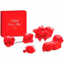 Набор Bijoux Indiscrets - Happily Ever After - Red Label, 4 предмета, красный