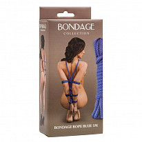 Веревка для связывания Lola Toys - Bondage Collection - Bondage Rope Blue, 3 м, синяя